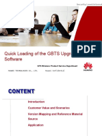Quick Loading of the GBTS Upgraded Software-V1.0.ppt