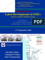4. Latest Developments in EMUs