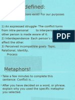 types of conflict lecture 321