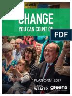 B.C. Green Party Platform