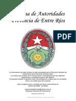 Nomina Gobierno Entre Rios