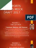 njnysports giants mock draft 2017