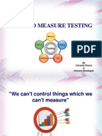 Ways to Measure Testing