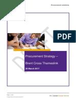 2017-04-24 Barnet Brent Cross - Thameslink Procurement Strategy