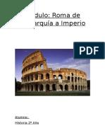 Módulo 1º B Secundaria Roma
