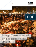 Foreign Terrorist Attacks By The Islamic State, 2002-2016