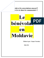 Le Benevolat en Moldavie