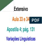 Aulas 33 34 Variacoes Linguisticas (1)