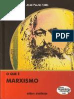 Netto. o Que é Marxismo