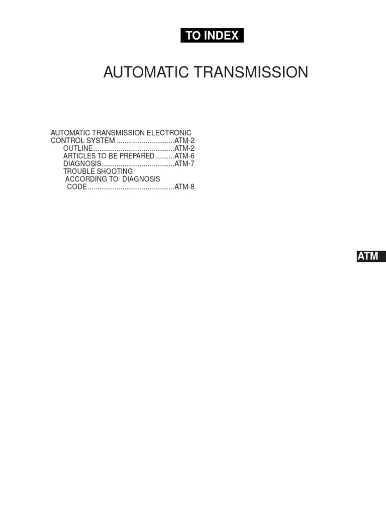 Atm transmission mechanics automatic transmission fandeluxe Image collections