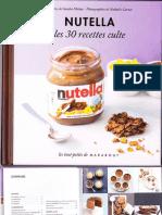 Les 30 Recettes Cultes Nutella