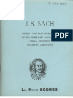 bach - Two-Part Inventions, Three-Part Inventions, Italian Concerto, Goldberg Variations