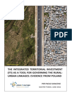 ITI as a Tool for Governing the Rural-urban Linkages - Evidence From POLAND