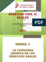 Derecho Civil v Reales - 1