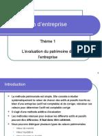 2 Evaluation d Entreprise Patrimoniale
