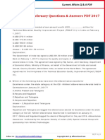 Current Affairs February Question & Answer 2017 PDF by AffairsCloud