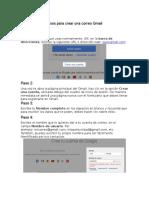Pasos Para Crear Una Correo Gmail