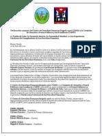 Declaración conjunta del Centro de Derechos Humanos Brigada 2506 (CDHD) y la Comisión de Atención a Presos Políticos y sus Familiares (CAPPF)