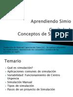 SimioWorkshop- Capítulo 1- Conceptos de Simulación