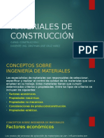 Clase 01_Materiales de Construccion