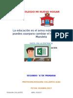 Tabla de Excel Corregida