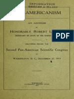 Pan Americanism 00 Lans