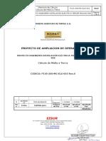 P105-200-MC-ELE-003 Memoria de Calculo de Malla a Tierra