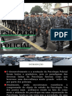 Psicologia Policial