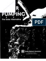 Water Pumping - The Solar Alternative