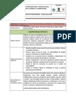 Proyecto Para La Atención y Prevencion de Desatres y Emergencia Loyola 2017