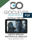 Instrukcja Obsługi Tabletu Goclever Manual R93 en Pl