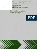 Wastewater Stabilization Lagoon - Intermittent Sand Filter Systems