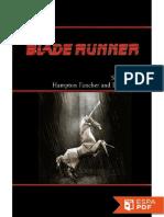 Blade Runner - Hampton Fancher, David Peoples