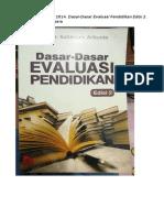 Arikunto 2015 Dasar Evaluasi Pendidikan