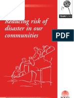 Reducing risk of disaster in our communities