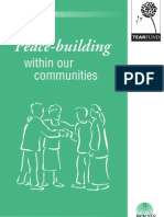 Peace-building within our communities