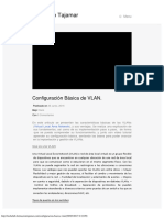 Configuración Básica de VLAN - TechClub