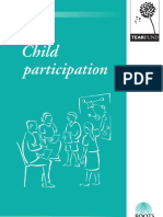 Child participation and Integration into Your Project