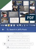 Jeff Farrell Life Record