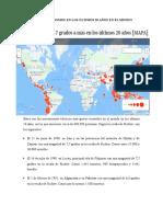Informe de Sismos en Los Últimos 20 Años en El Mundo