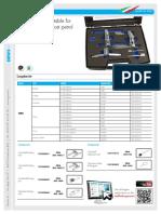 Folder e Referencia Ferramenta  Travamento Comando e Arvore de Manivelas 1.0 Ecoboost Ford Fiesta Italiana