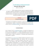 Decreto539 de 2014