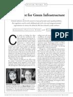 Green Light for Green Infrastructure