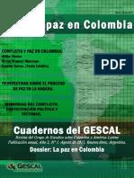 GESCAL Cuadernos 21-2015 - La Paz en Colombia