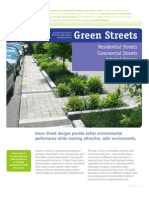 Green Streets - A Conceptual Guide to Effective Green Streets Design Solutions