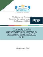 Manual Del PEI 2016