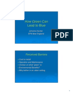 How Green Can Lead to Blue