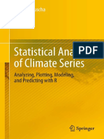 Statistical Analysis of Climate Series