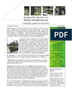 Managing Wet Weather with Green Infrastructure, October 2007 Bulletin