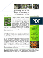 Managing Wet Weather with Green Infrastructure, January 2008 Bulletin